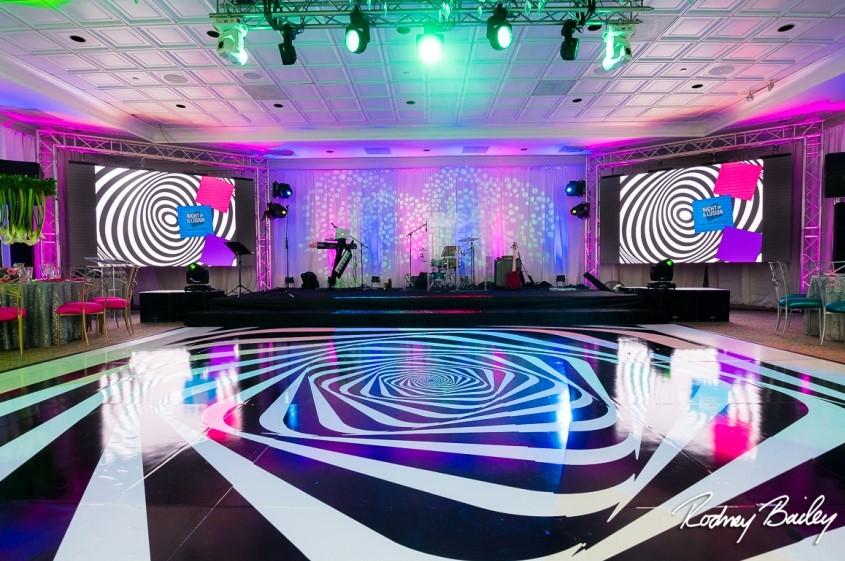Custom MADE Dance Floor