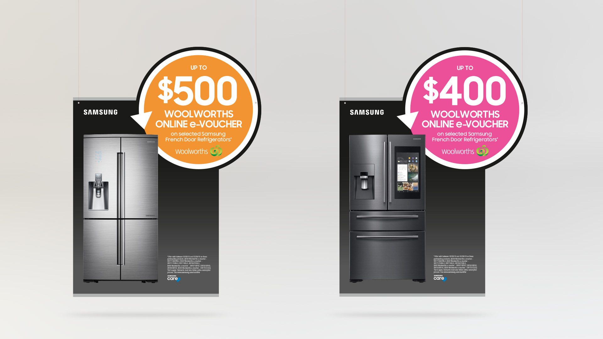 Samsung Fridge Cashback