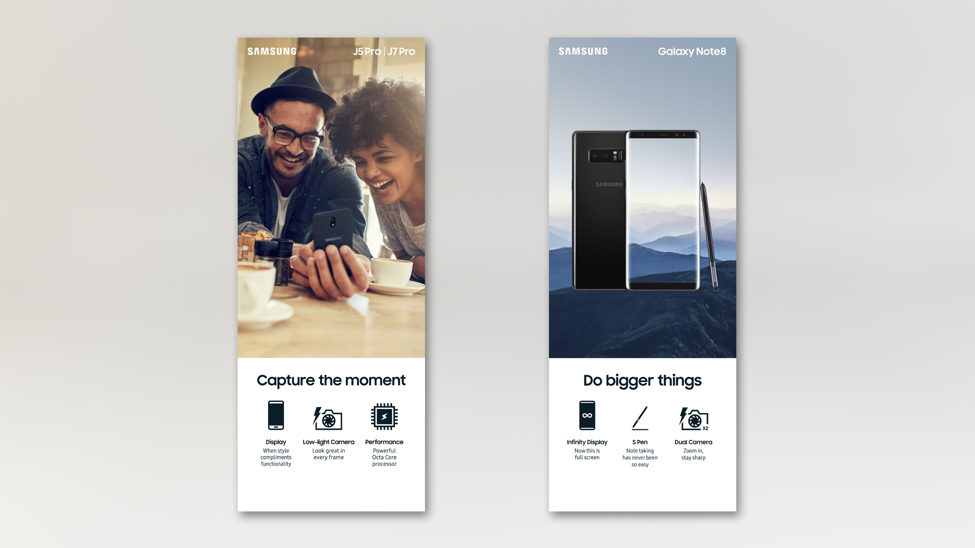 Samsung Mobile Features Towers