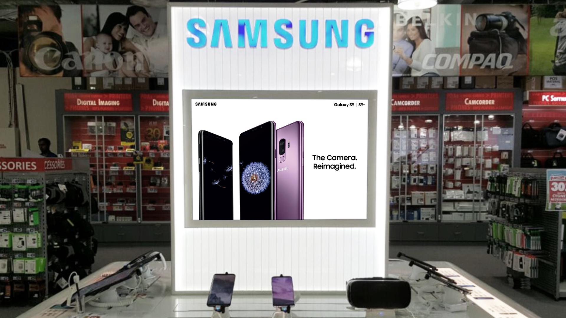 Samsung Table Lightbox