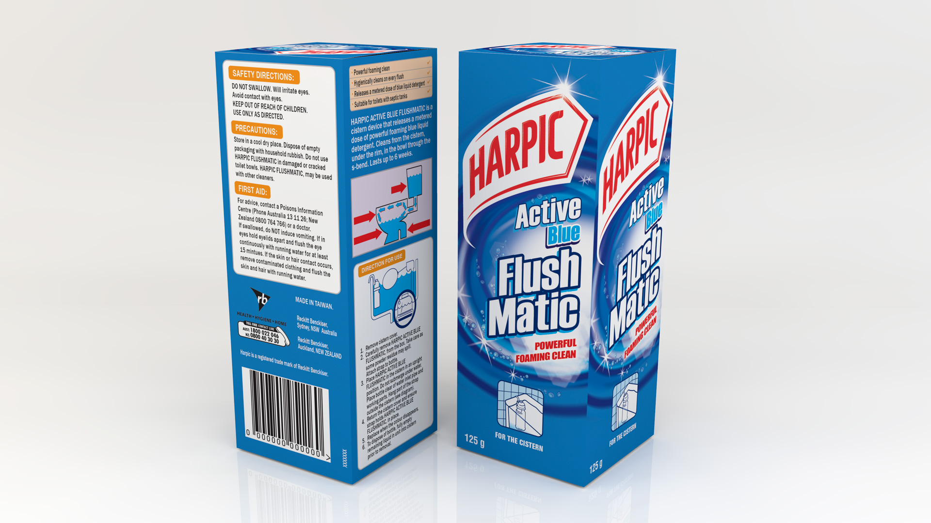 Harpic Packaging