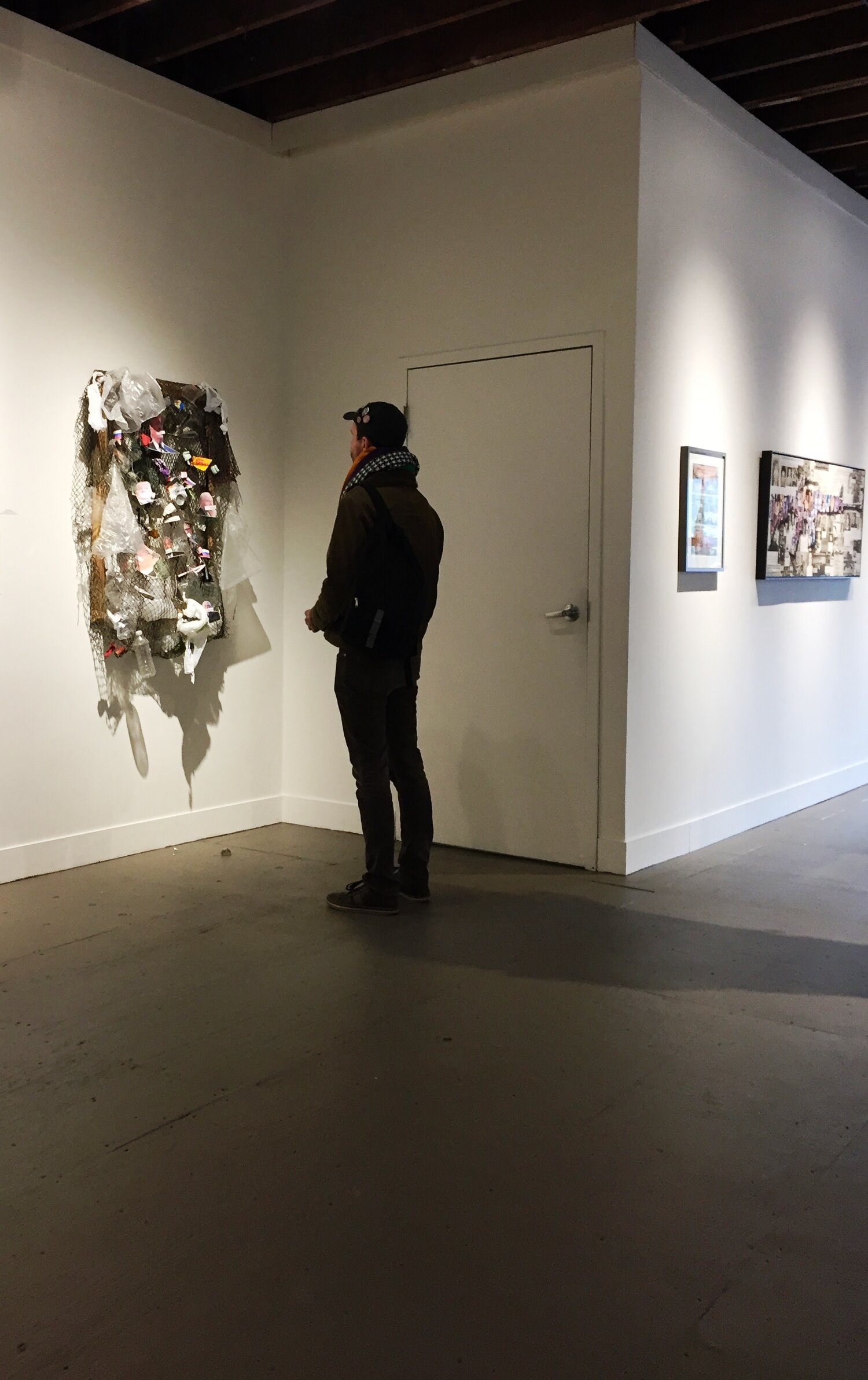 """- """"(Her) work is excellent – immediate, poignant, well-thought out.""""Mark Krueger, X.po.zur Gallery, January 2017"""