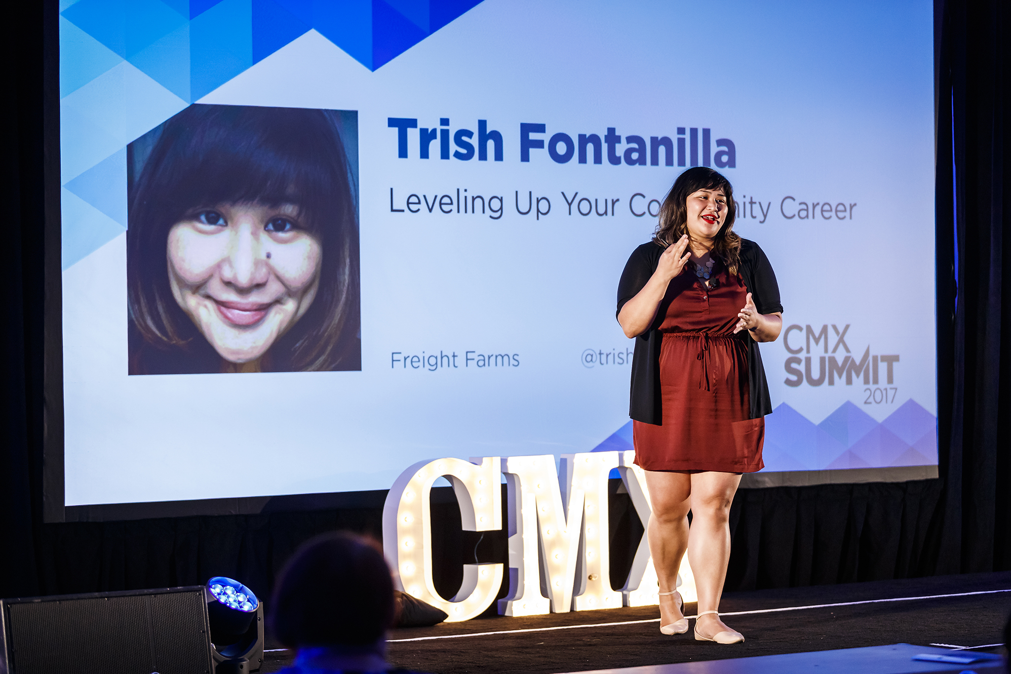 Leveling up your community career talk at   CMX Summit  .