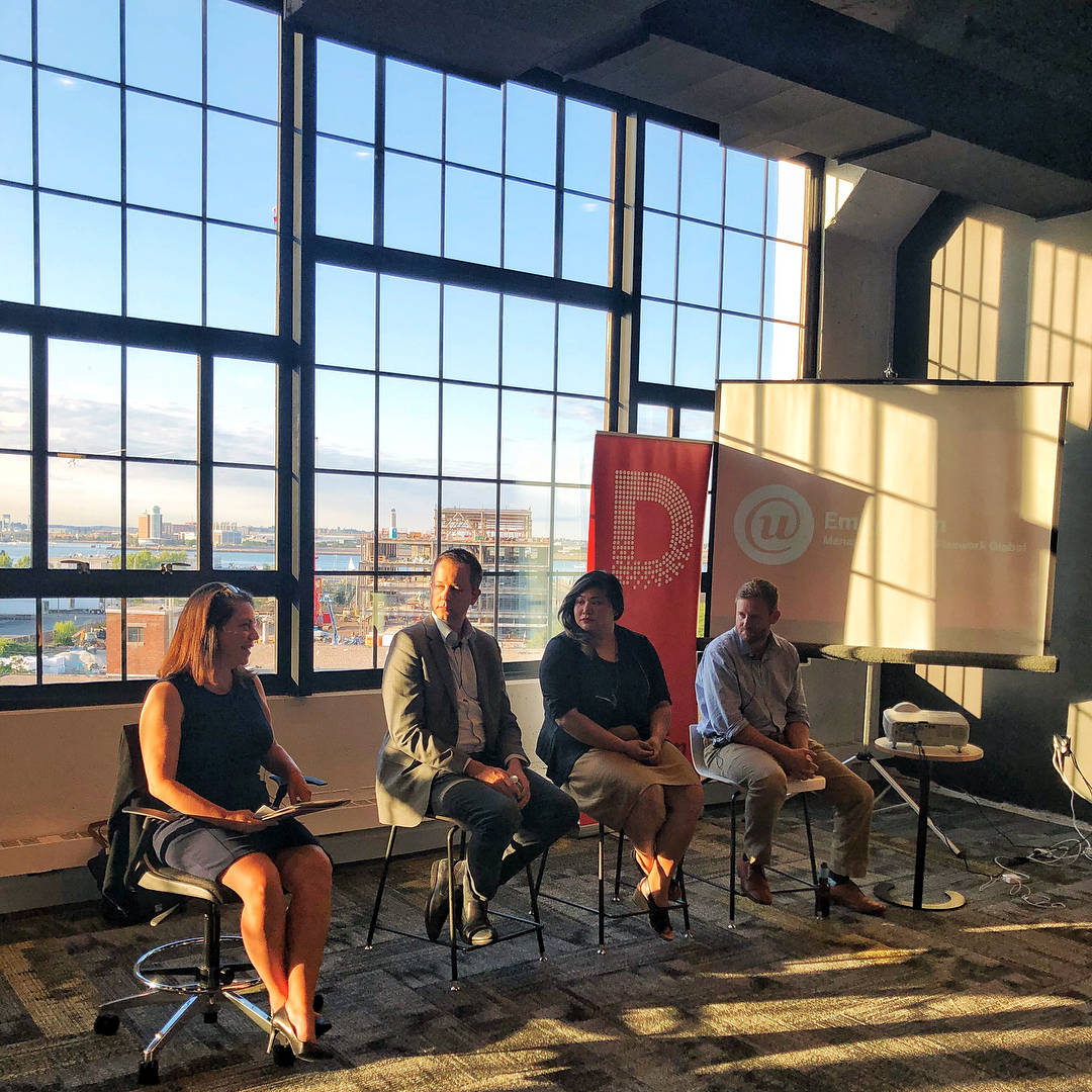 Panel discussion on designing for the gig economy with   Design Museum Boston  .