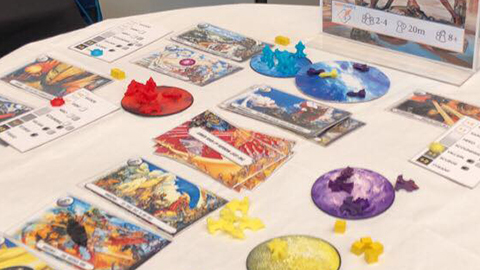 THE LOST WORLDS OF JOSH KIRBY  Dice Rolling, Action Selection