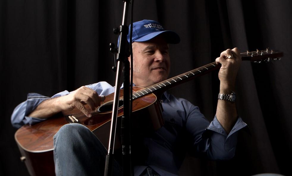 Dave DuChane gave me this Alvarez guitar.