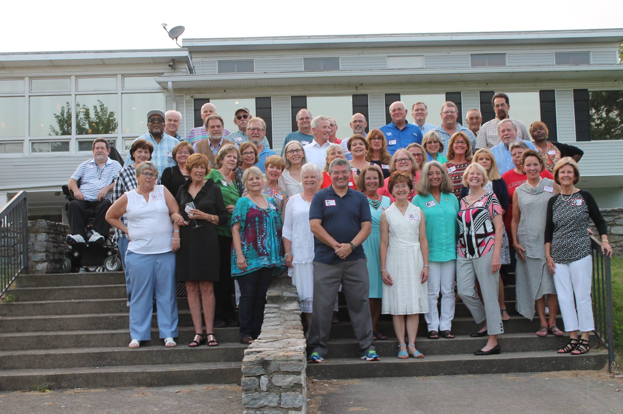 Class of '72 is lookin' good  at our 45th class reunion!