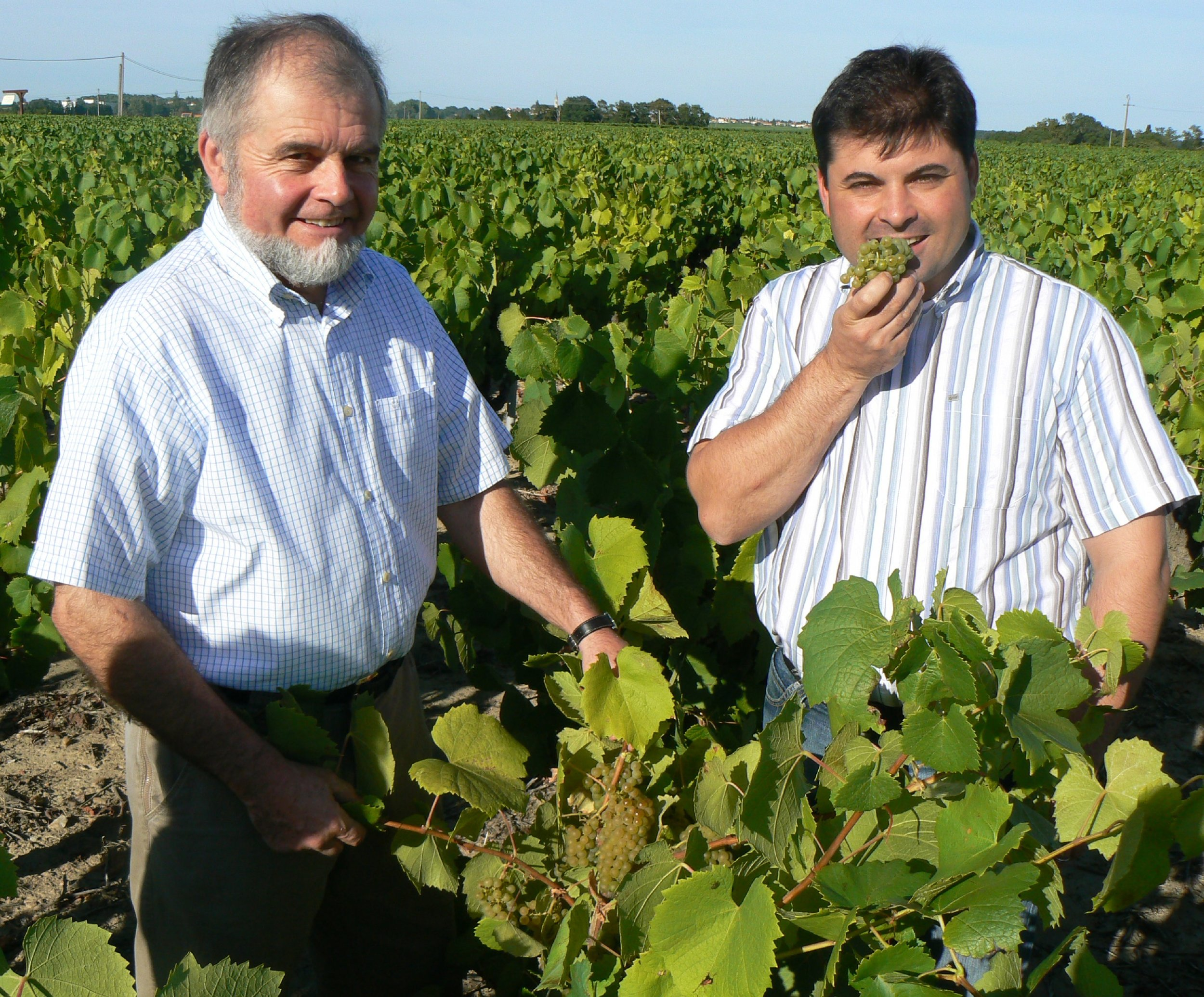 Winemakers Remy and Raphael Luneau