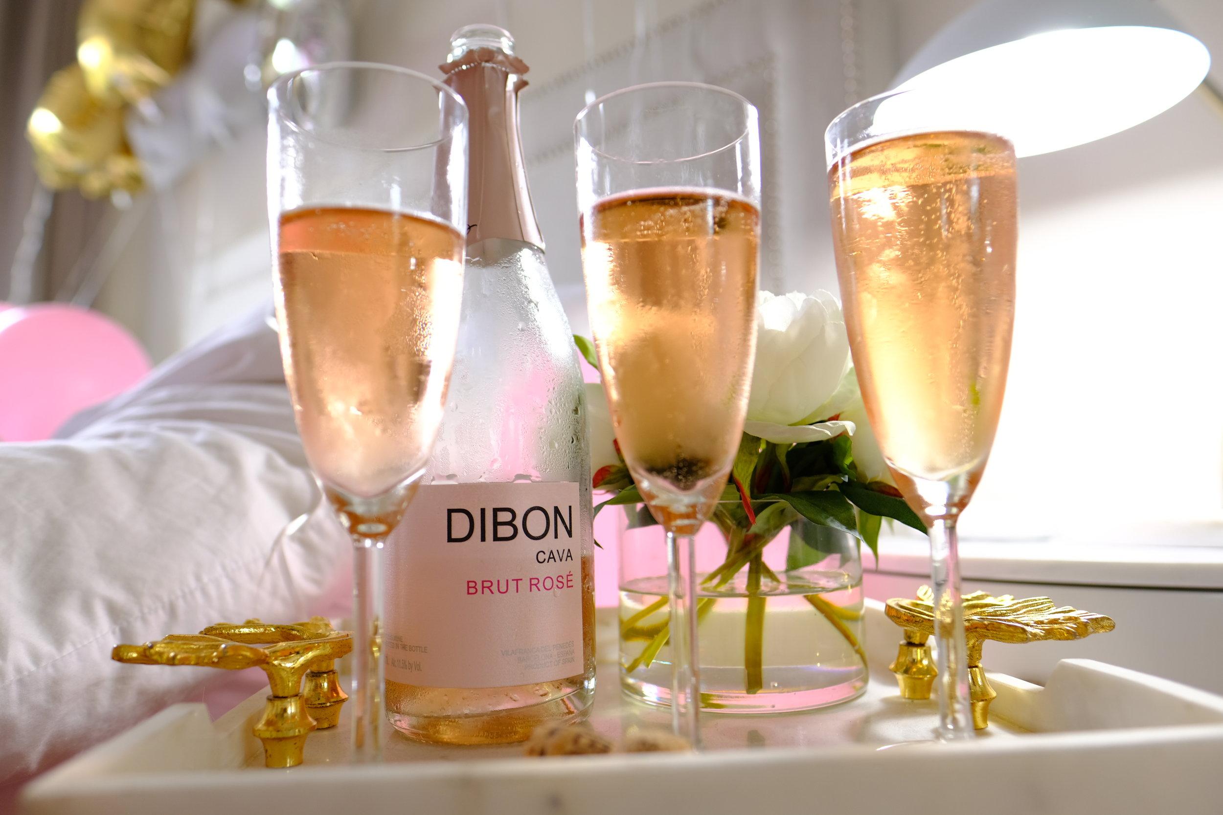 dibon cava brut rose- birthday champs