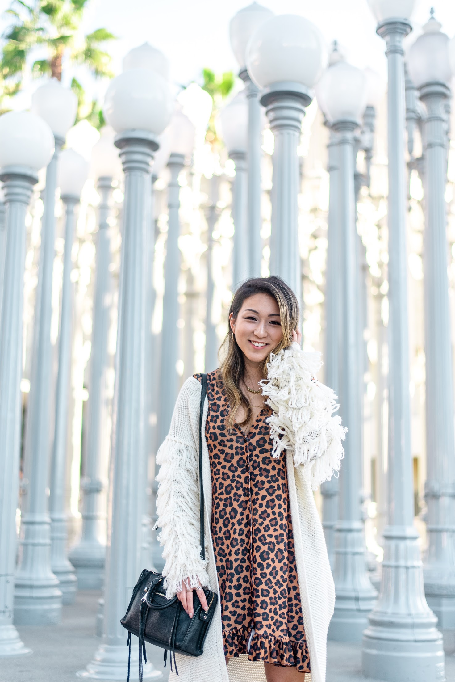 Margaret Nam- Urban Light-LA TOP Instagram Spot