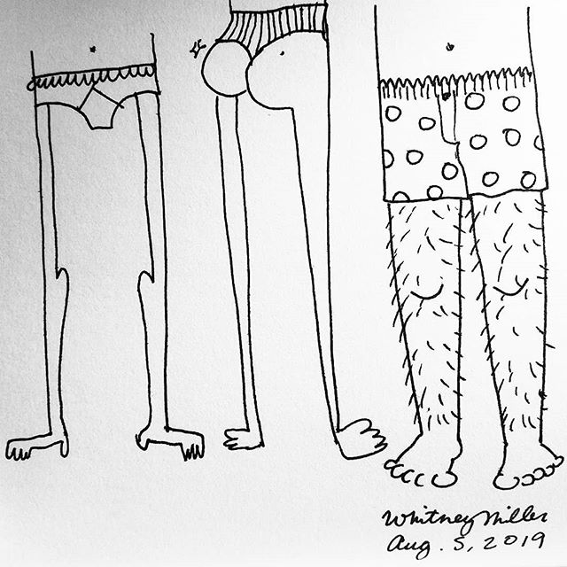 Happy #NationalUnderwearDay Enjoy these fashionable underwears!  #jockeys #frillyunderwear #panties #underwear #comic #drawing #doodle #thong #boxers #illustrationsbywhit #fashion