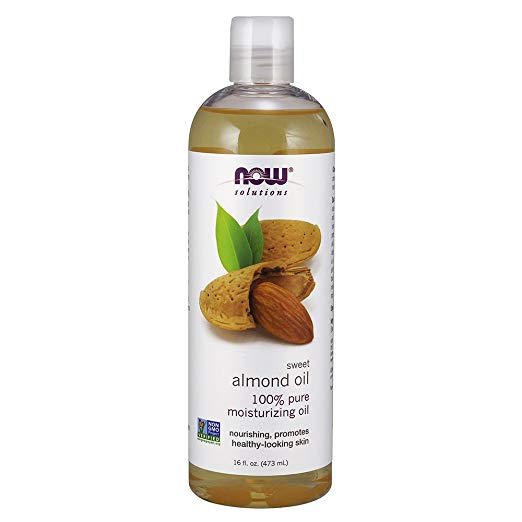 I use almond oil to remove my makeup and to act as a moisturizer as well