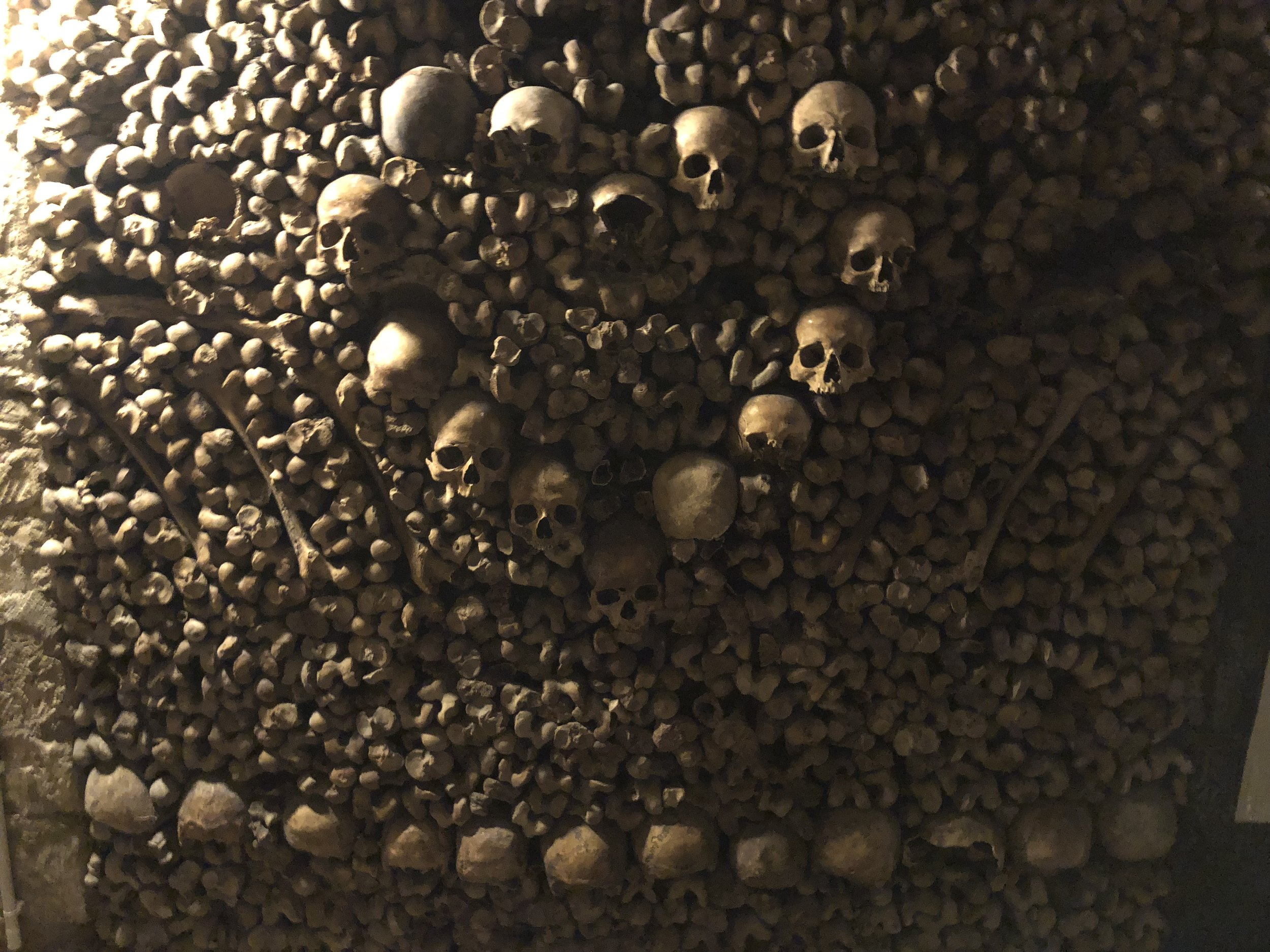 Deep in the catacombs. Do not spend the night.
