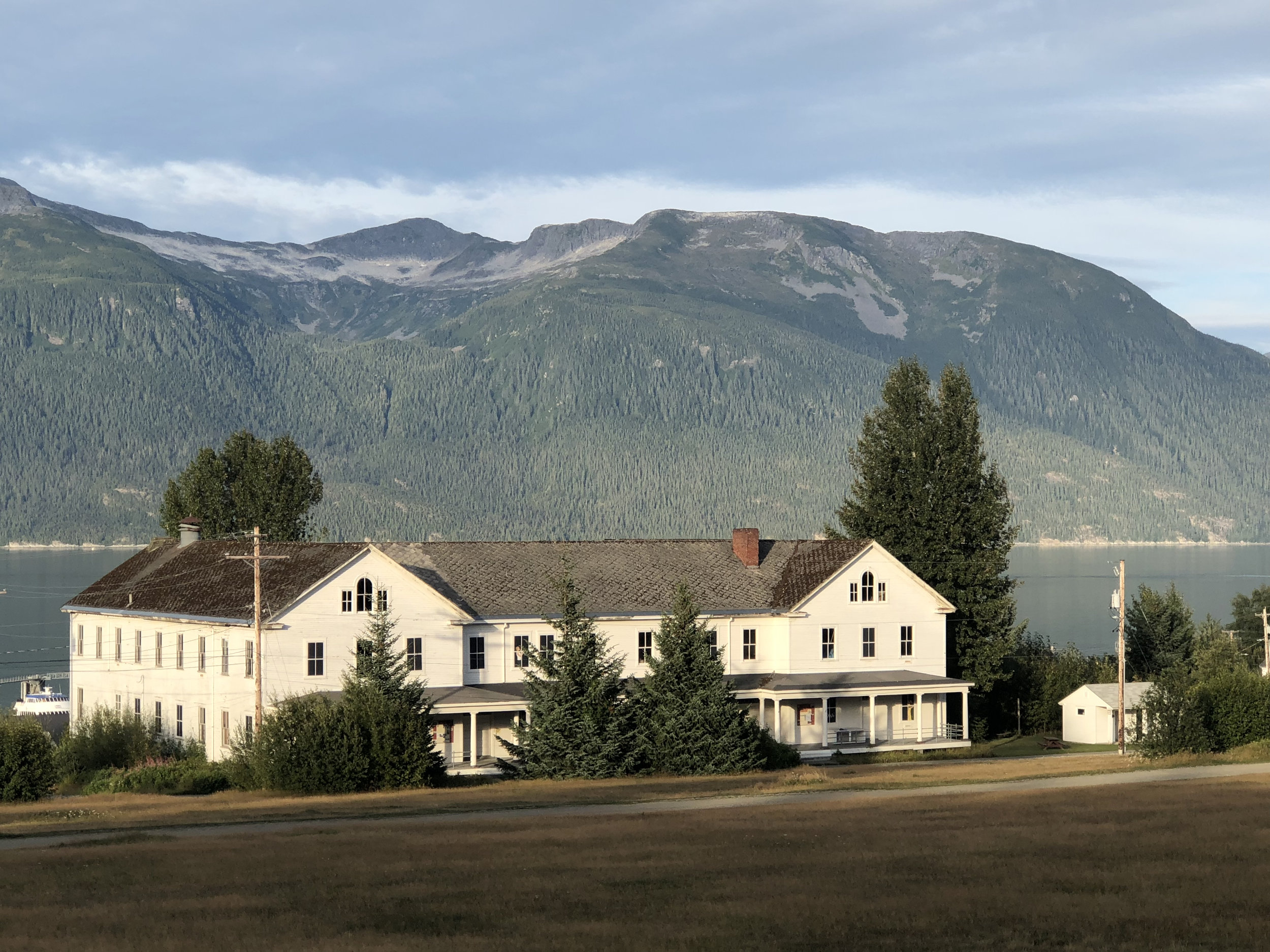 The old Port Chilkoot barracks.