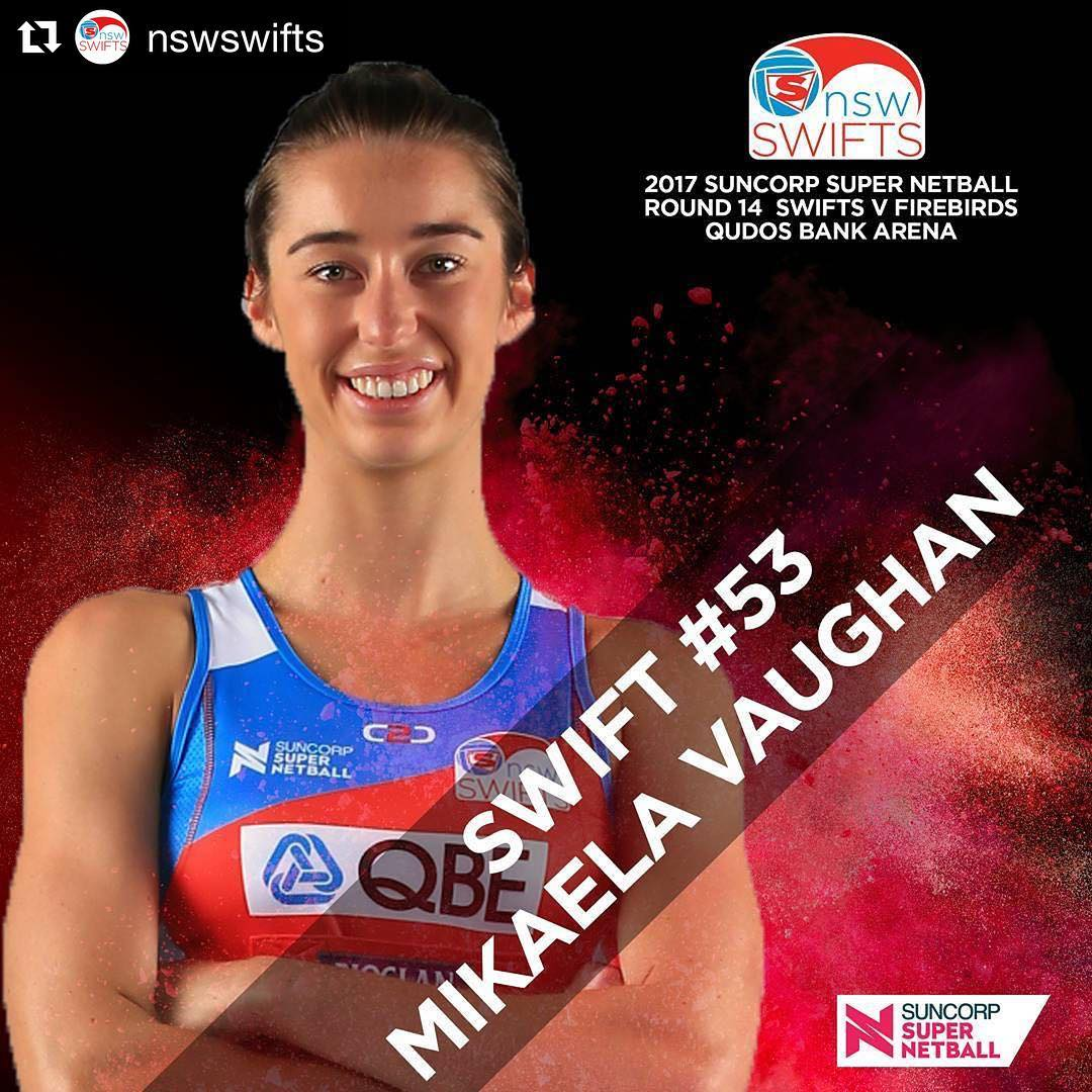 MIKAELA VAUGHAN - NSW SWIFTS 2017