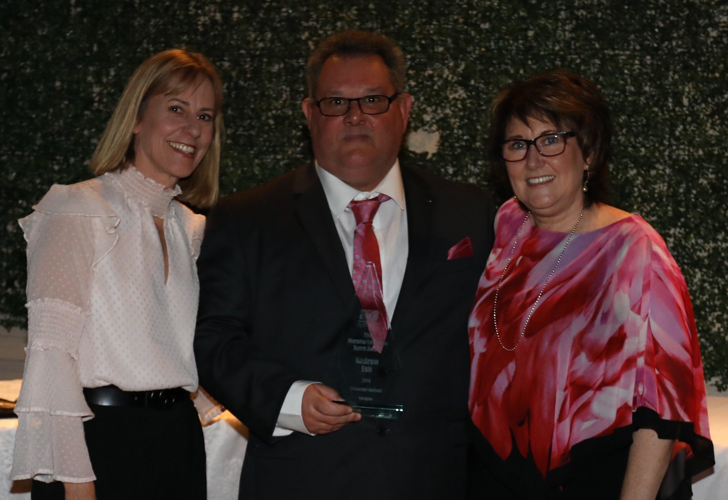 Service Award: Andrew Esh