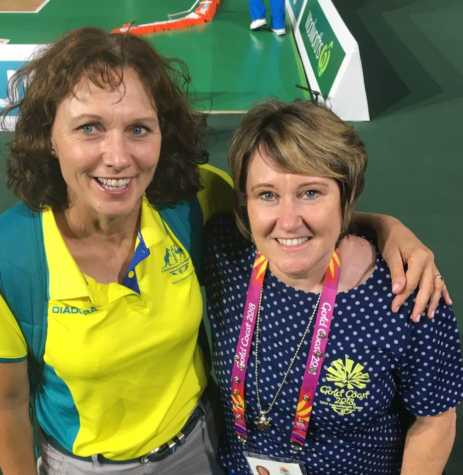 Julie & Lindy, 2018 Commonwealth Games