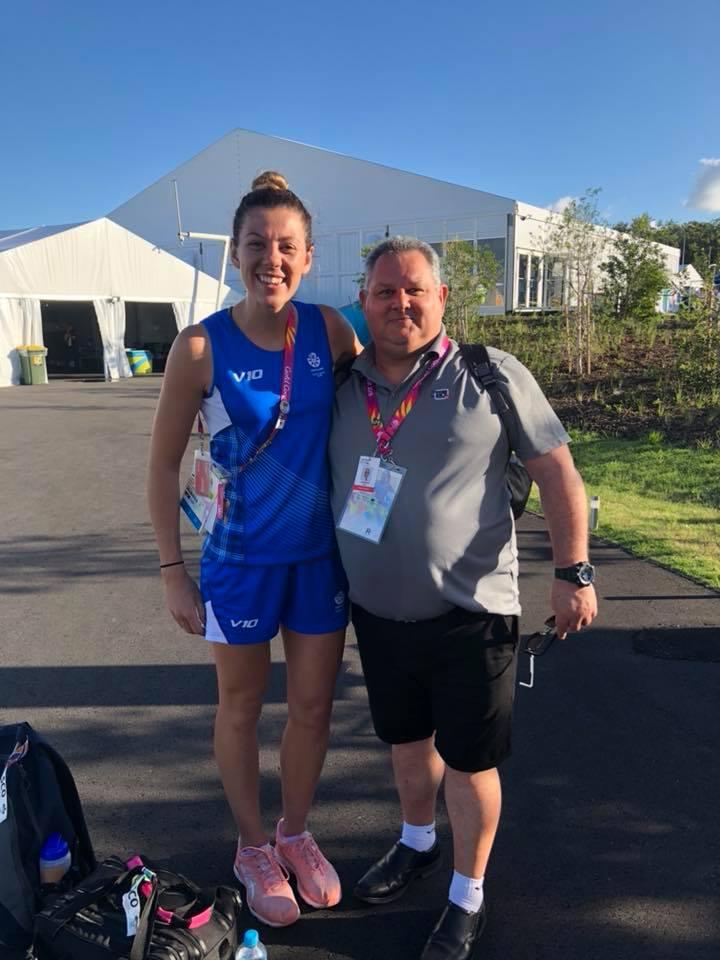 Andrew & Fiona; 2018 Commonwealth Games