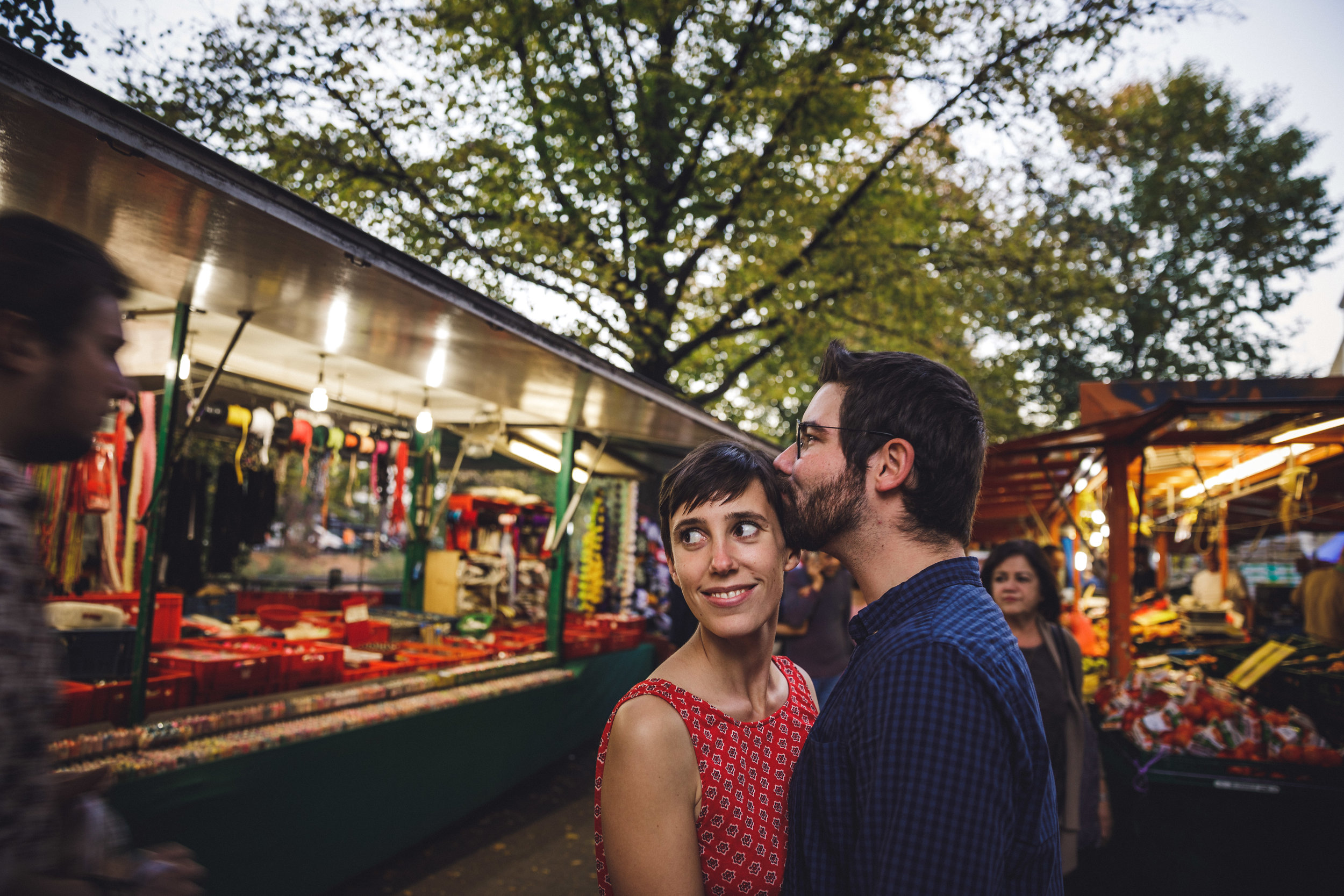 berlin engagement shoot, berlin couple photoshoot, berlin canal photoshoot, turkish market berlin