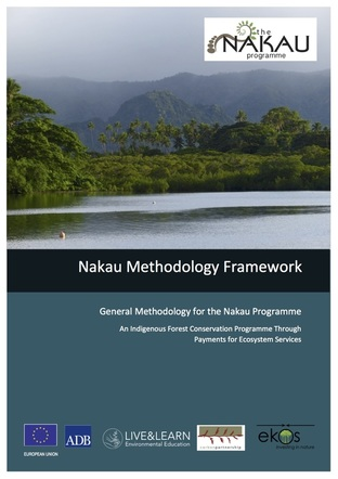 The Nakau Methodology Framework is a general methodology required for any project operating in the Nakau Programme - a Pacific Island rainforest conservation financing programme. The Nakau Programme (and its methodologies and protocols) was developed jointly by Ekos and Live & Learn International. The Nakau Methodology Framework covers project governance, Free Prior and Informed Consent (FPIC), financial discipline, benefit sharing, biodiversity and social impacts. The Nakau Methodology Framework was validated to the Plan Vivo Standard in 2015.