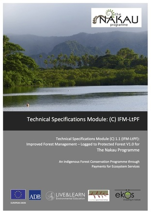 All projects in the Nakau Programme are required to apply a Technical Specifications Module covering measurement, reporting and verification (MRV) of carbon benefit impacts delivered by a project. The TS Module applied in the Drawa Project is a carbon accounting methodology applicable to projects that avoid forest degradation: Improved Forest Management - Logged to Protected Forest (IFM-LtPF). This Technical Specifications Module was validated to the Plan Vivo Standard in 2015.