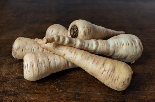 Parsnips for gluten-free, grain-free, Cape Cod Muffins. Sweetened with fruits and vegetables only.