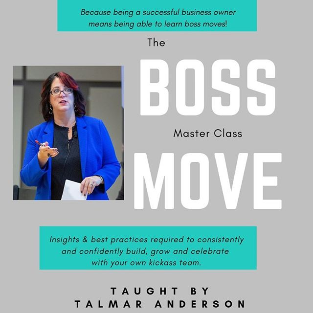"""WOW!! Thank you!! Again I'm seeing my company now in higher perspective (with each new lesson)! I do team meetings but not the other 2 meetings! I need to do starting next week!"" - Natasha M.  Did you know that the Boss Move Master Class is a bonus to ALL Better Boss Mastery members?  What could you do to improve your team's results while growing a kickass team???? Join of course!  It's only $67/month.  Check our the link in the bio!! #entrepreneurship #businessowner #kickassteam #hireright #scale #organizationalstructure #bossactions"