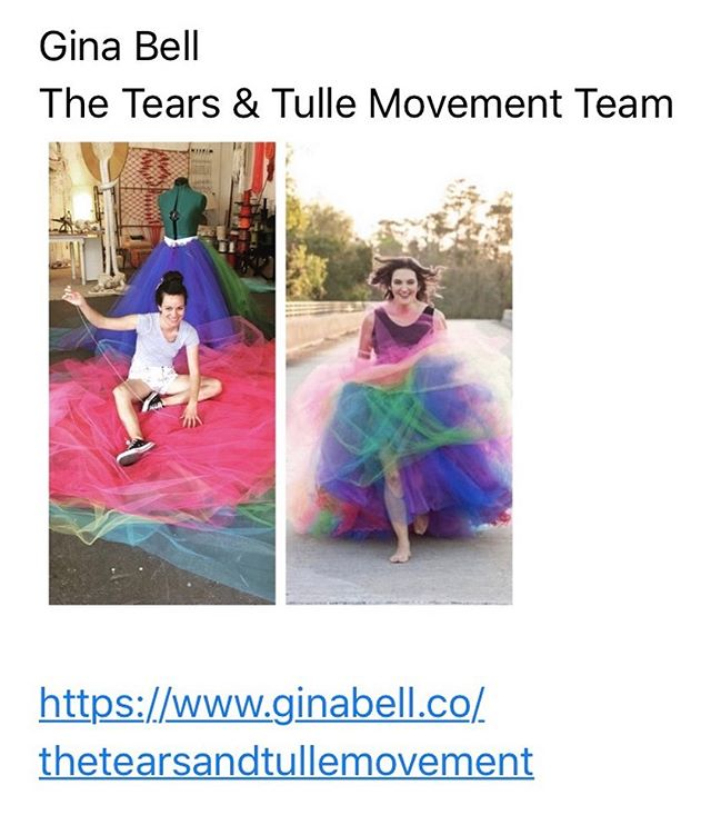 What do a rainbow tulle skirt, something black and I have in common? Check back March 31, 2020 to see!  Or follow along the adventure at @tearsandtulle Movement!  #iamlight #bettertogether #escapethehiringloop #bossmove #nevertoolatetostart @joeprobono