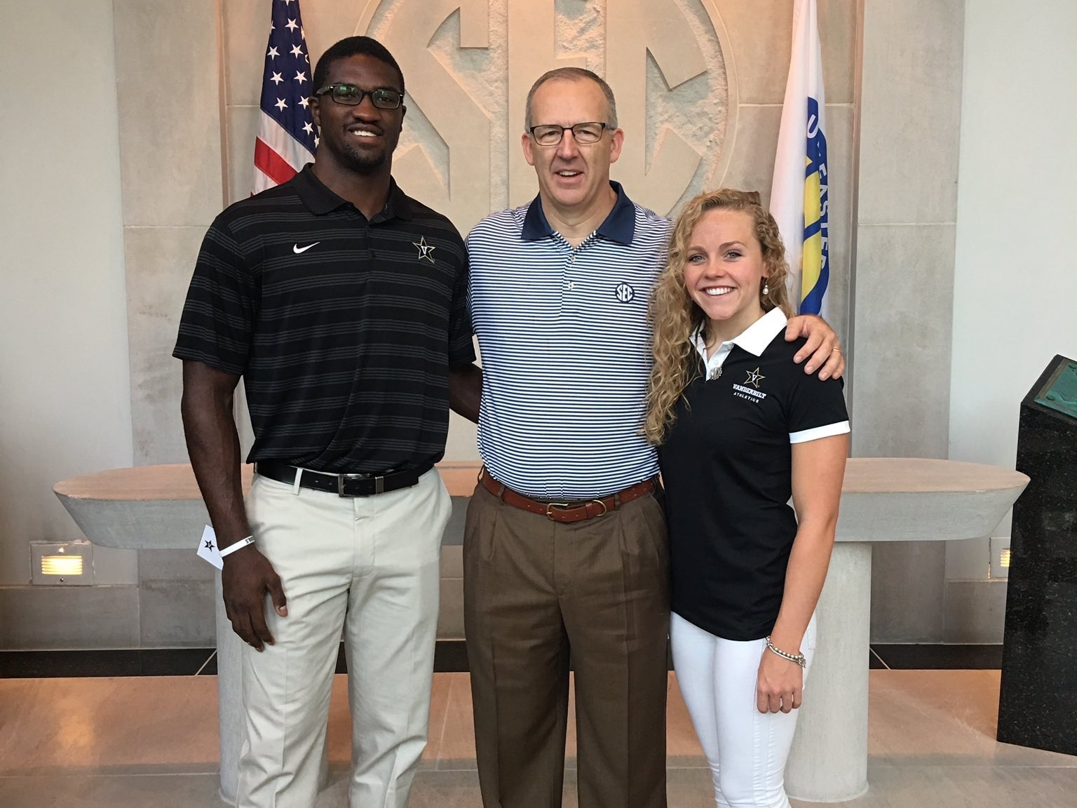 Student Athlete Advisory Committee (SAAC) - PRESIDENT, FOOTBALL REPRESENTATIVEServed as a liaison between Vanderbilt Student-Athletes and University Administration.