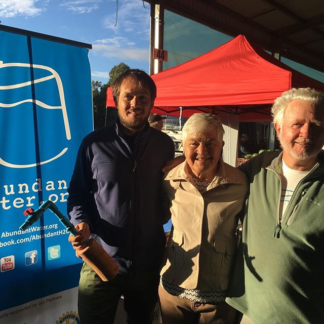 Celebrating 15 years of the Canberra Region Farmers Market and the steadfast and generous support of the Rotary Club of Hall for Abundant Water. #oneofakindapartments  #barefootandbespoke  #crfm #visitcanberra