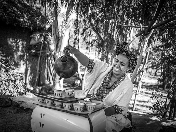 Traditional Ethiopian Coffee Ceremony - Wiki Commons