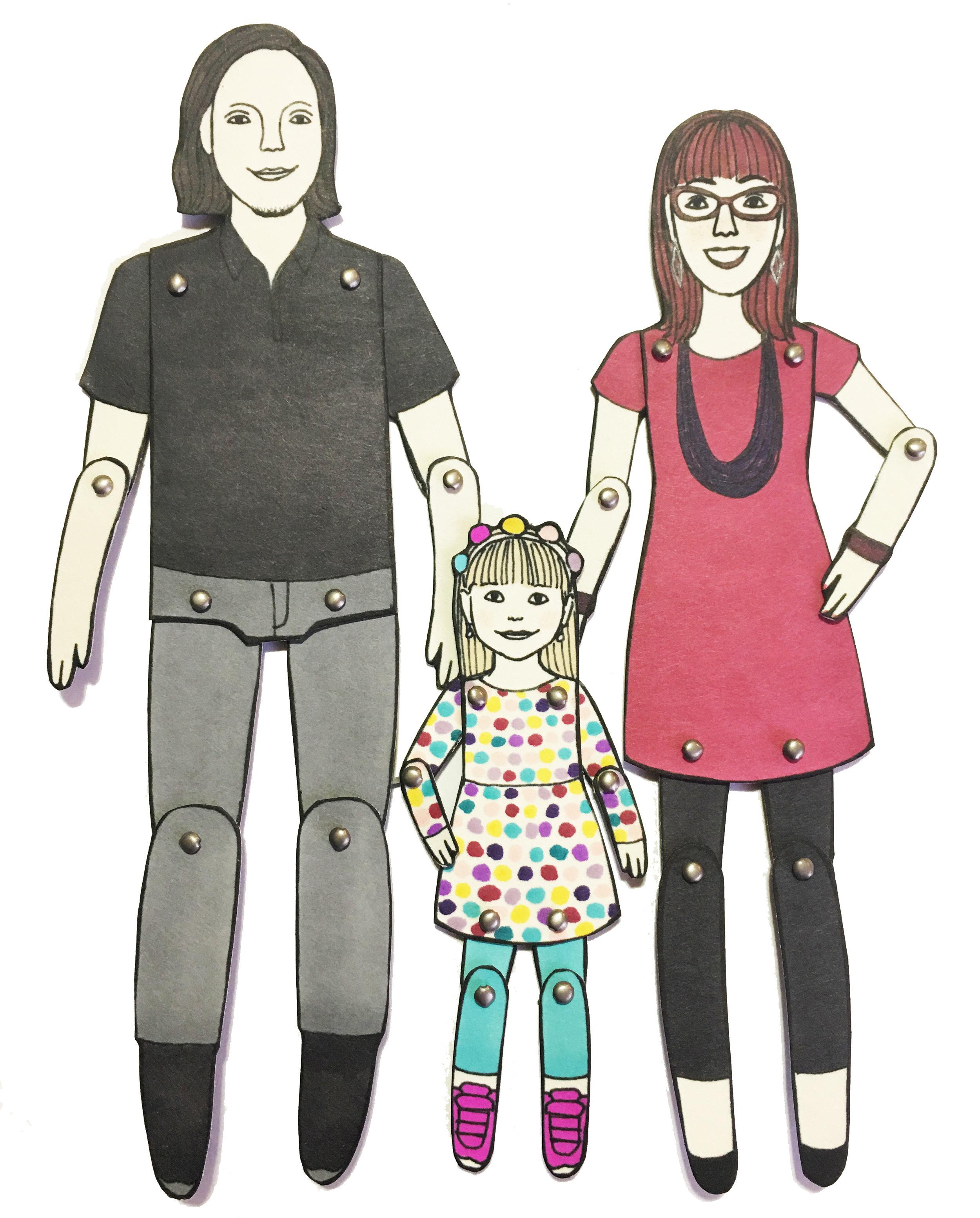 Family Portrait by Jordan Grace Owens