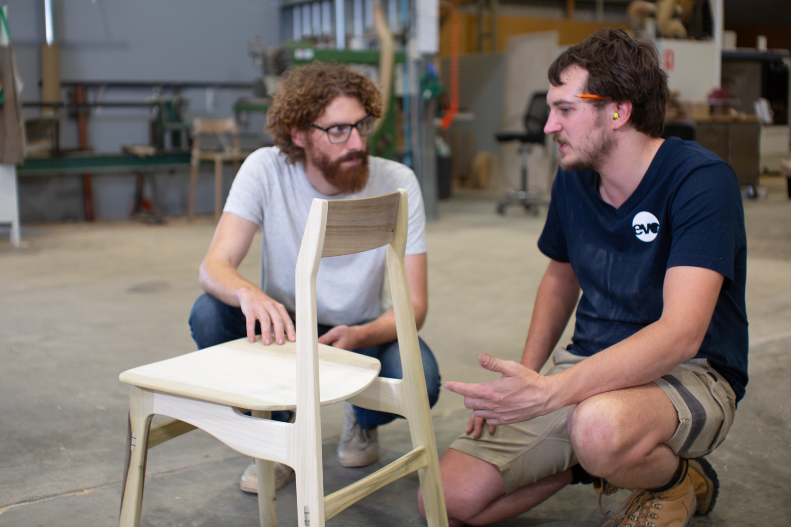 Prototyping the Flea Chair by  Adam Markowitz