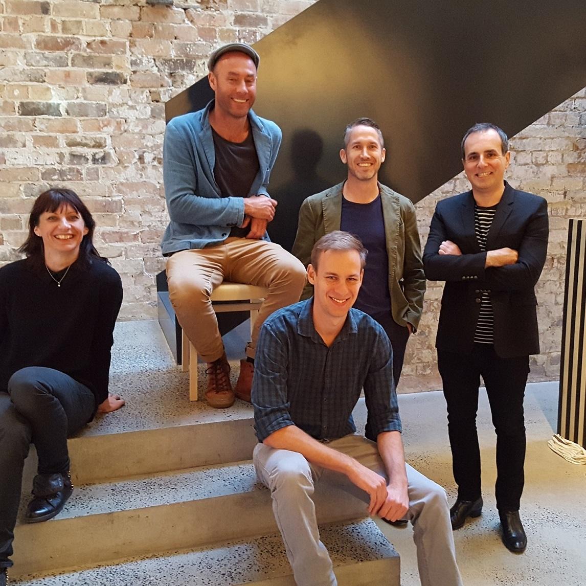 DenFair 2016 - Greg Natale, Adam Goodrum, Todd Hammond, Ben Percy & Anne-Claire Petre