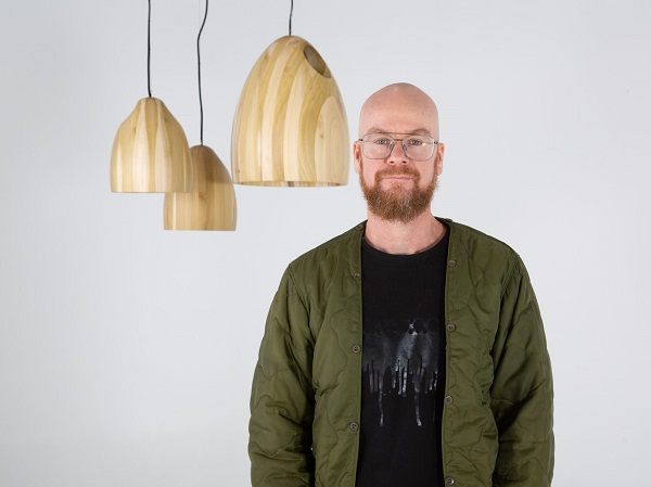 Ross Gardam with Large and Small Pendants available through  Stylecraft
