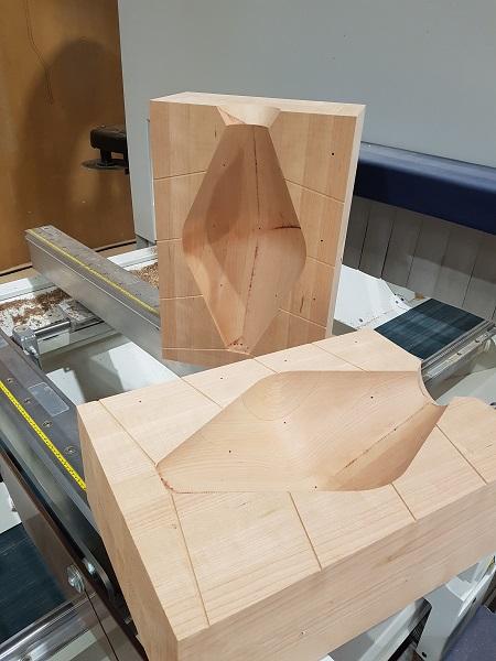 Timber mold for  Rakumba Lighting
