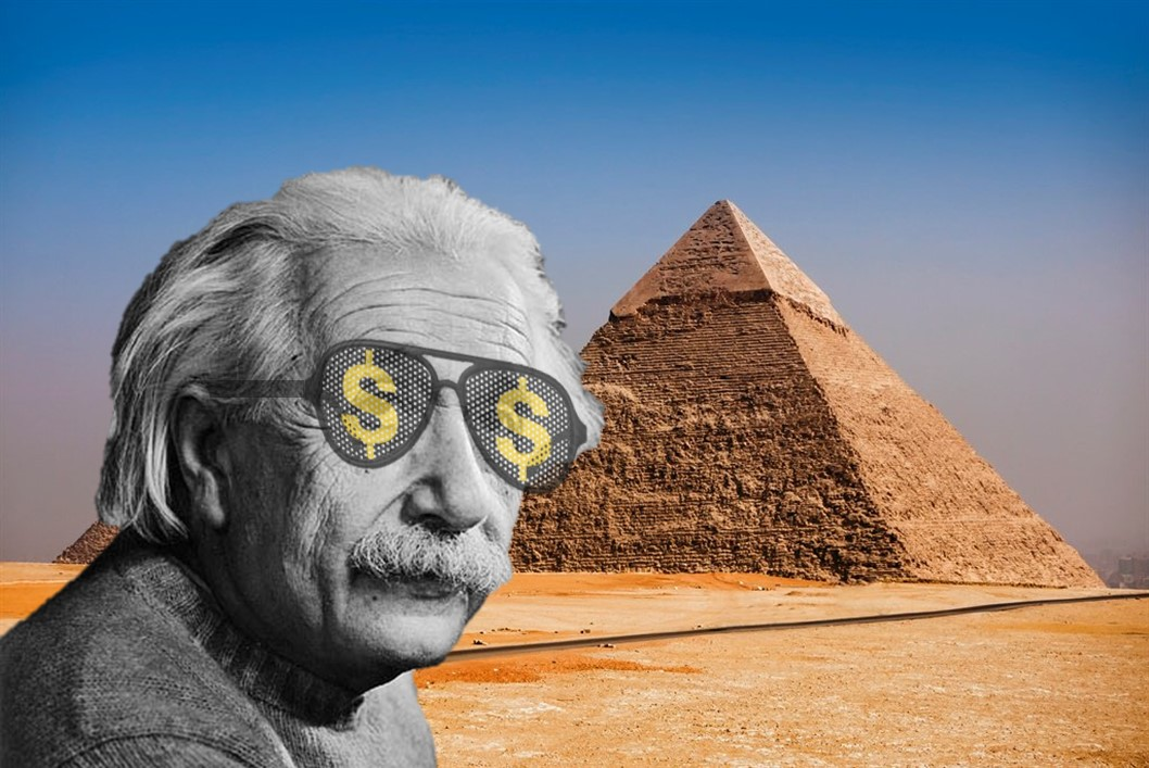 It's not the pyramids, but compound interest that Einstein considered to be the 8th wonder of the world