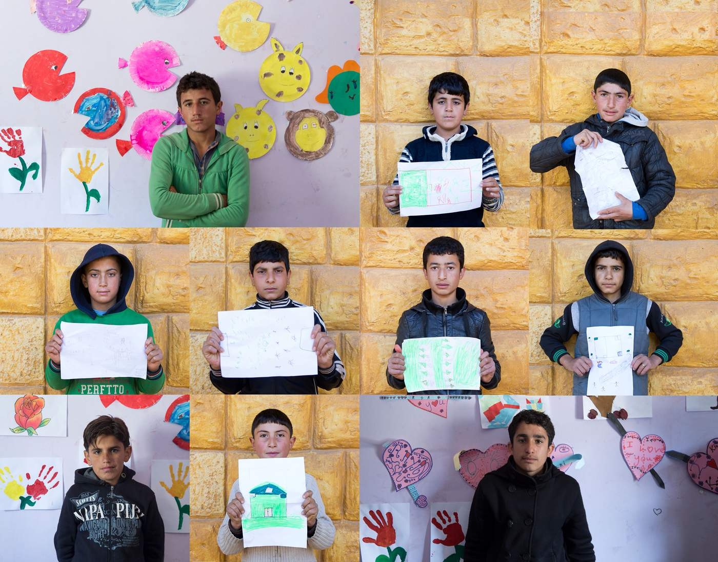 For many Syrian refugee children their safe place is their school classroom. Plan International provide anti-gender violence and protection activities through schools projects in Lebanon © Plan International Australia