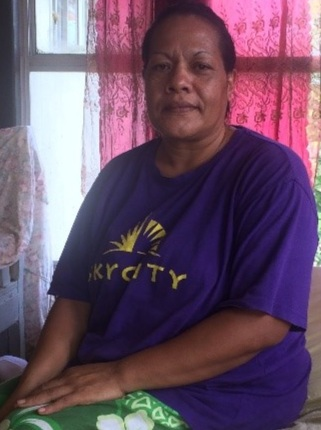 Above: Felekape Pthahulu, Manager of the Loto'fua Fksamaletani Elderly Centre. Photo: Charlie Damon, CARE Australia