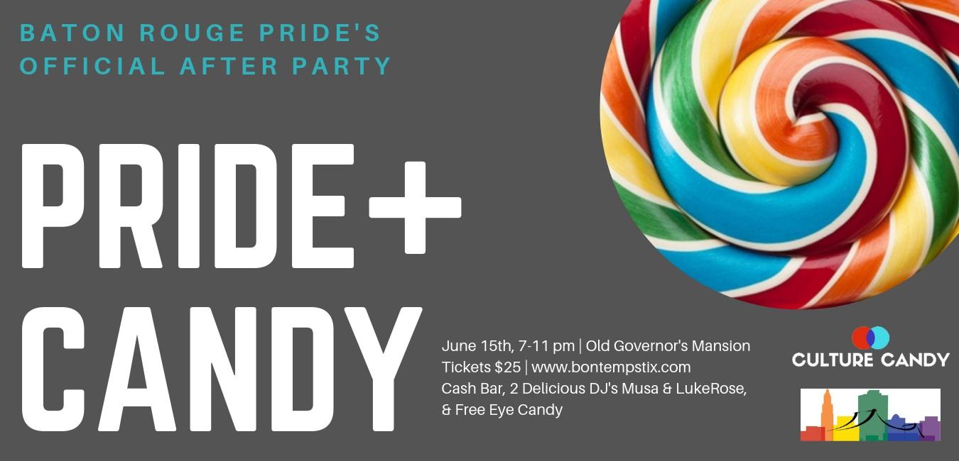 Buy your ticket now!  https://bontempstix.com/events/pride-candy