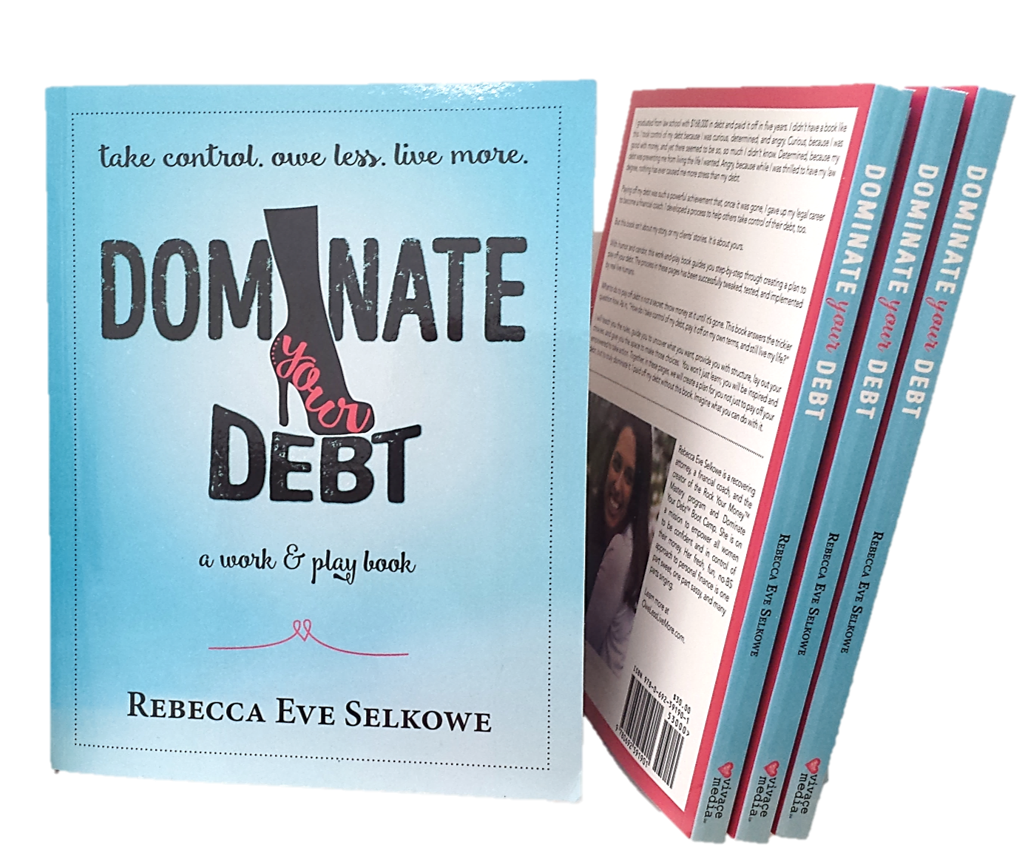 Dominate Your Debt: A Work & Play Book - Dominate Your Debt guides you, without judgment, through understanding both yourself and your debt.As you read, write, and play your way through the pages, the work you do in the book becomes your playbook for taking control. By the end you will have a plan not just to pay off your debt, but to truly dominate it.