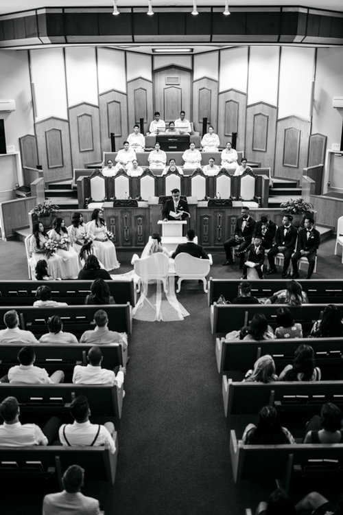 wedding ceremony church
