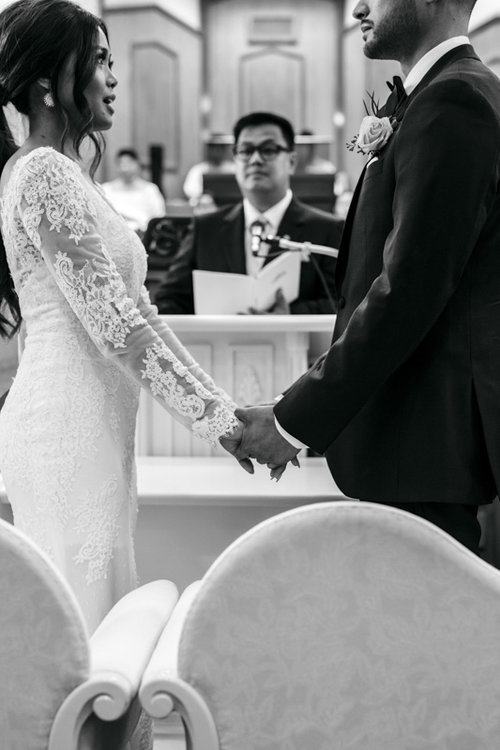 wedding vows bride and groom