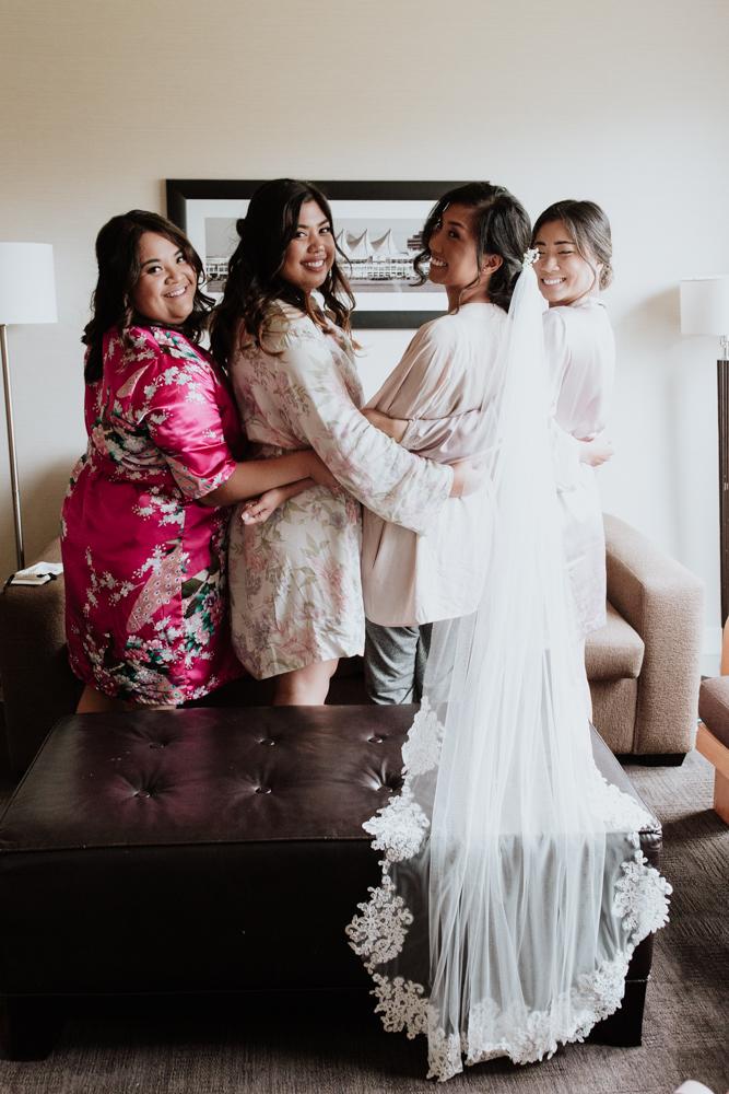 photo of bridesmaids