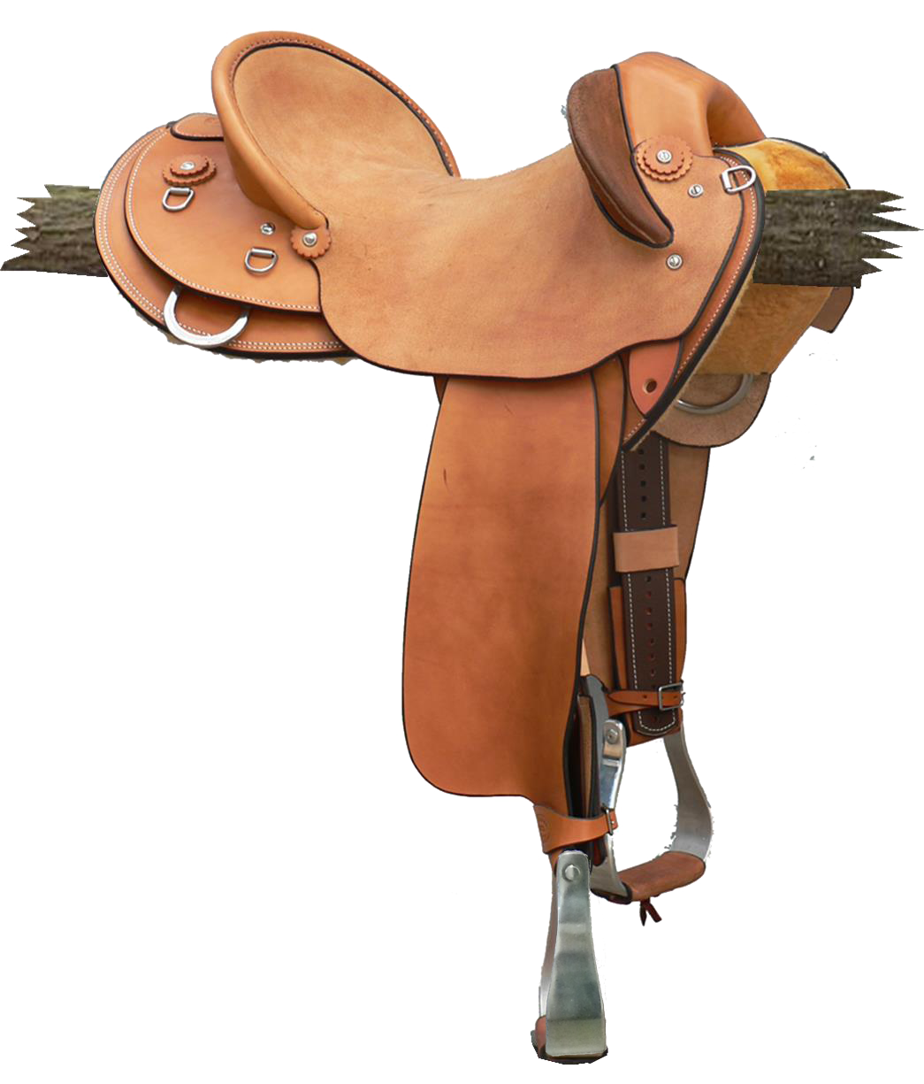 """Station Fender - This saddle made with:- Natural Leather- Stainless Steel Fittings- Leather Conchos- 'D' Rigging & JockeyAll saddles come fitted with Don Orrell 2"""" Flat Bottom Rancher Stirrups & Professional's Choice VenTECH Western Girth. Available add ons:- Flank-girth $275- Fully Padded Seat $440- Inlay Seat $220Enquire Now."""