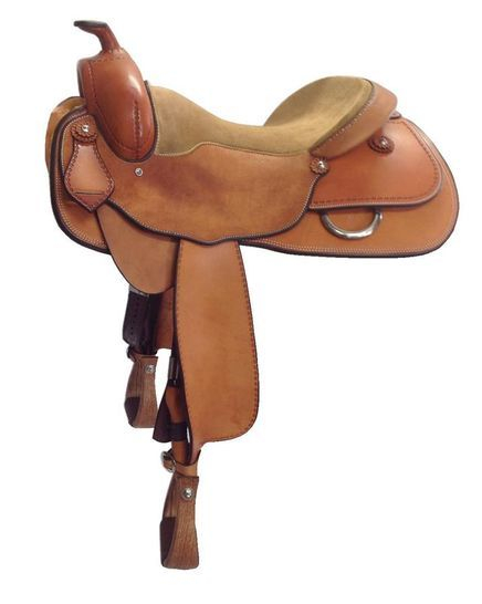 Standard Reiner - This saddle made with: - Natural Leather- SS Fittings & Rigging- Don Orrell RanchersAll saddles come fitted with Don Orrell Rancher Stirrups & Professional's Choice VenTECH Western Girth.Add on:- Edge Stamping $110