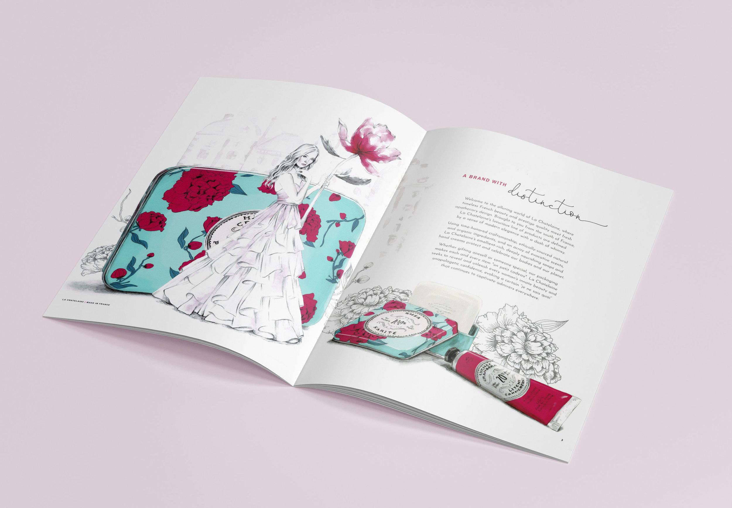 Luxury Brand custom illustrations