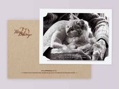 Pet Blessings / logos / greeting cards / magnets / packaging