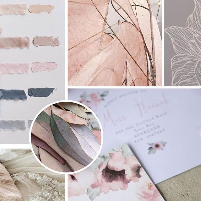 ✨ Textures ✨ thought I'd share this pretty mood board that I created for a client recently, I love all of the soft and natural textures and the general mood of old world romance 😍  Do you resonate with the images? 🍂