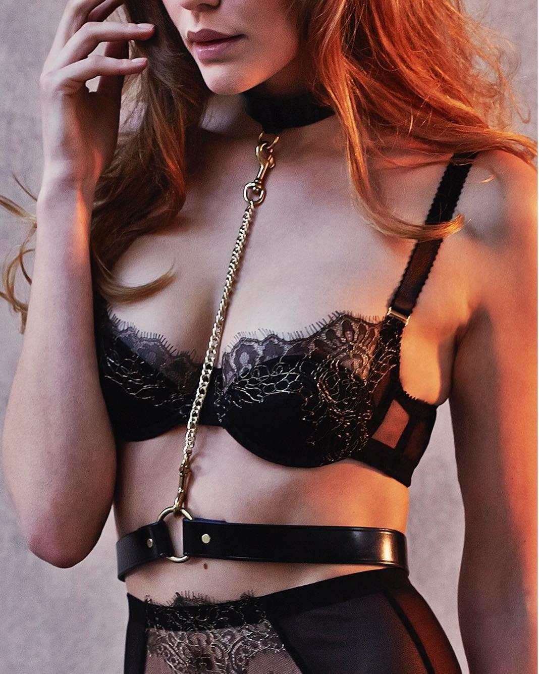 Arabella Balcony Bra  (harness sold separately)